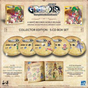 GRANDIA Complete OST (CD)