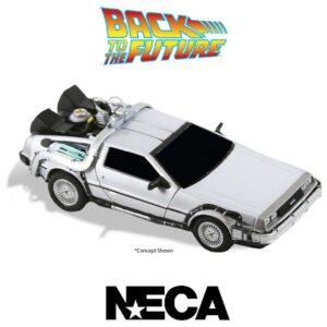 Back To The Future DeLorean diecast collectible