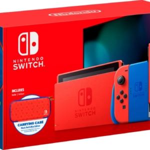Nintendo Switch – MARIO EDITION v2